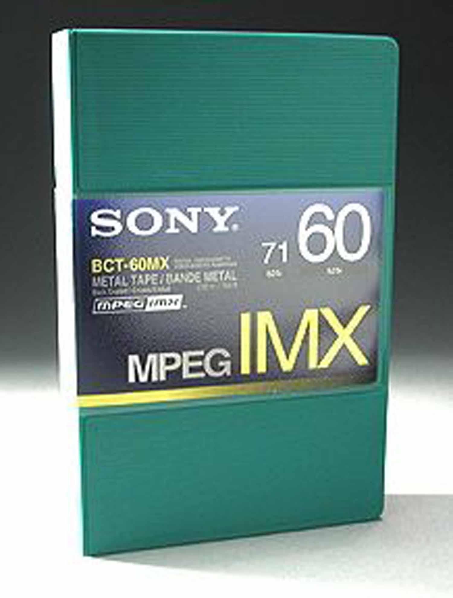 Betacam MPEG IMX