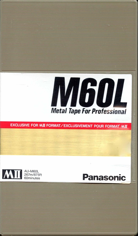 M60L MII Cassette
