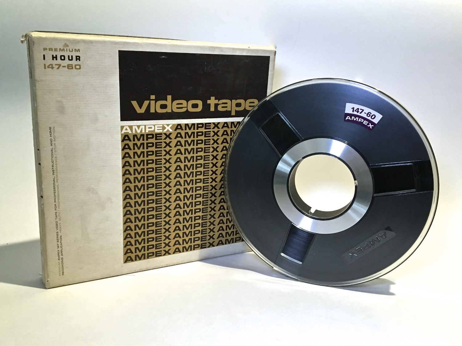 """Ampex 1"""" Type A"""