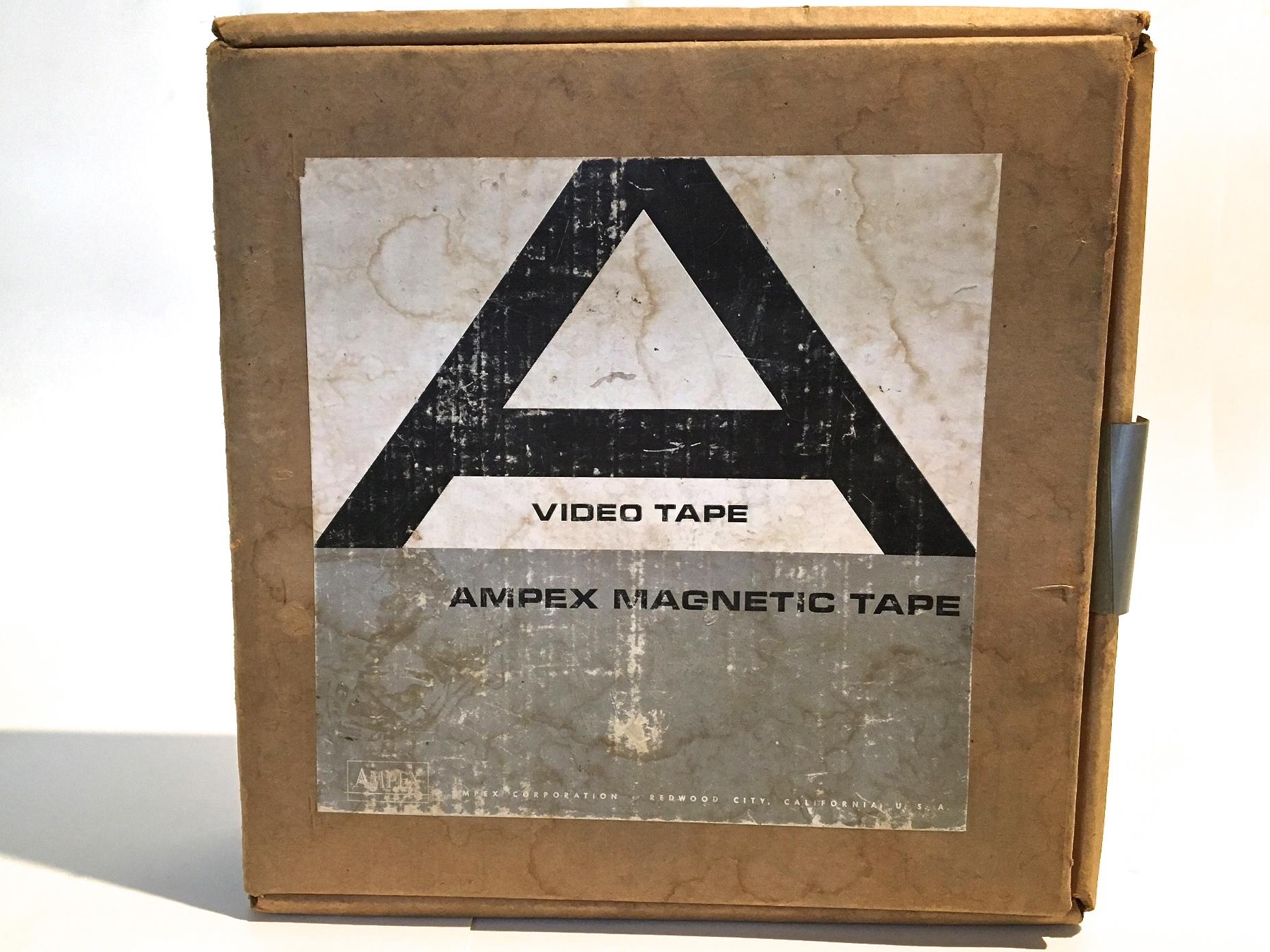 """Ancient Ampex 2"""" Quad Tape"""