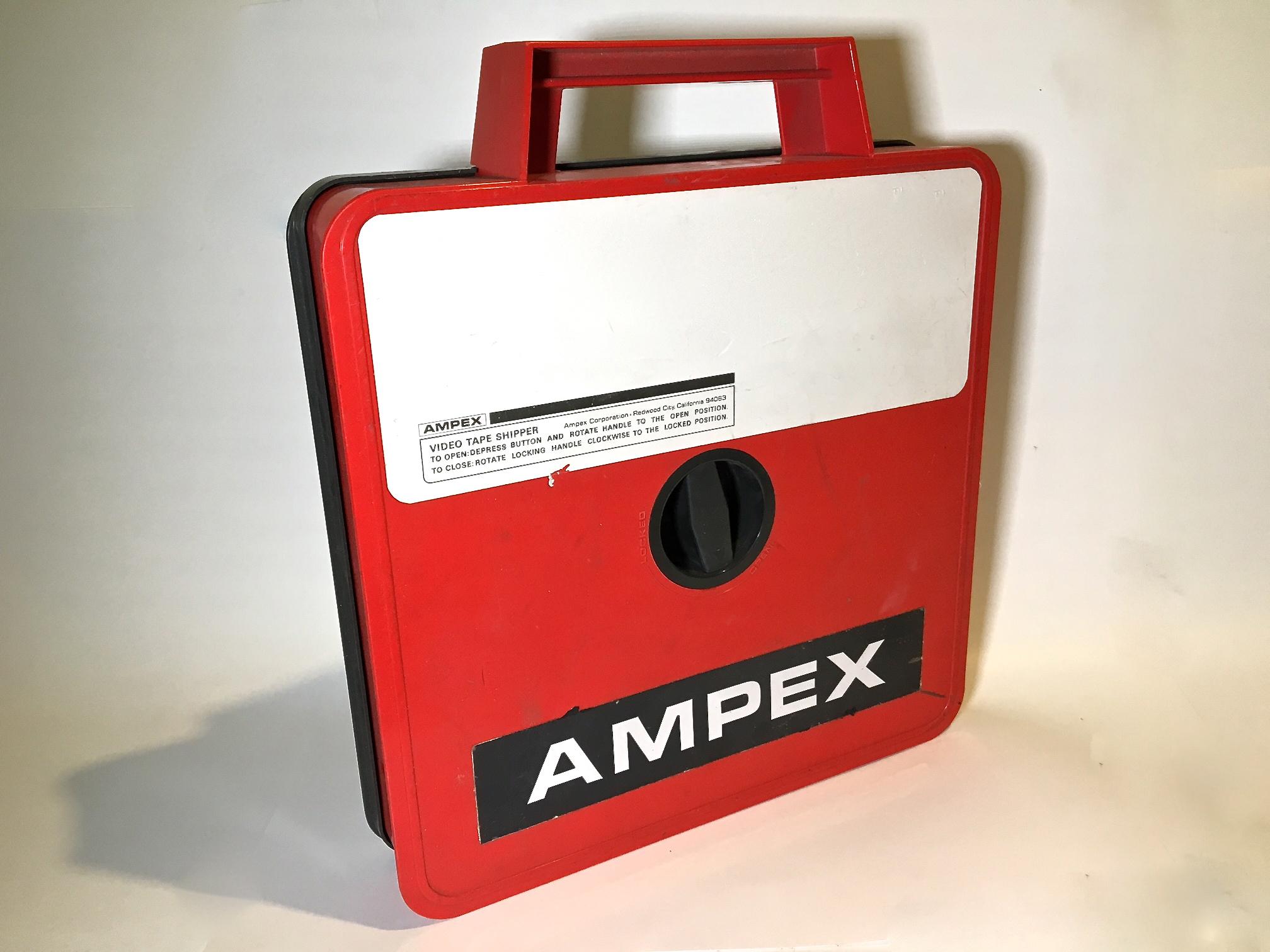 "Ampex 2"" Quad Red Shipper"