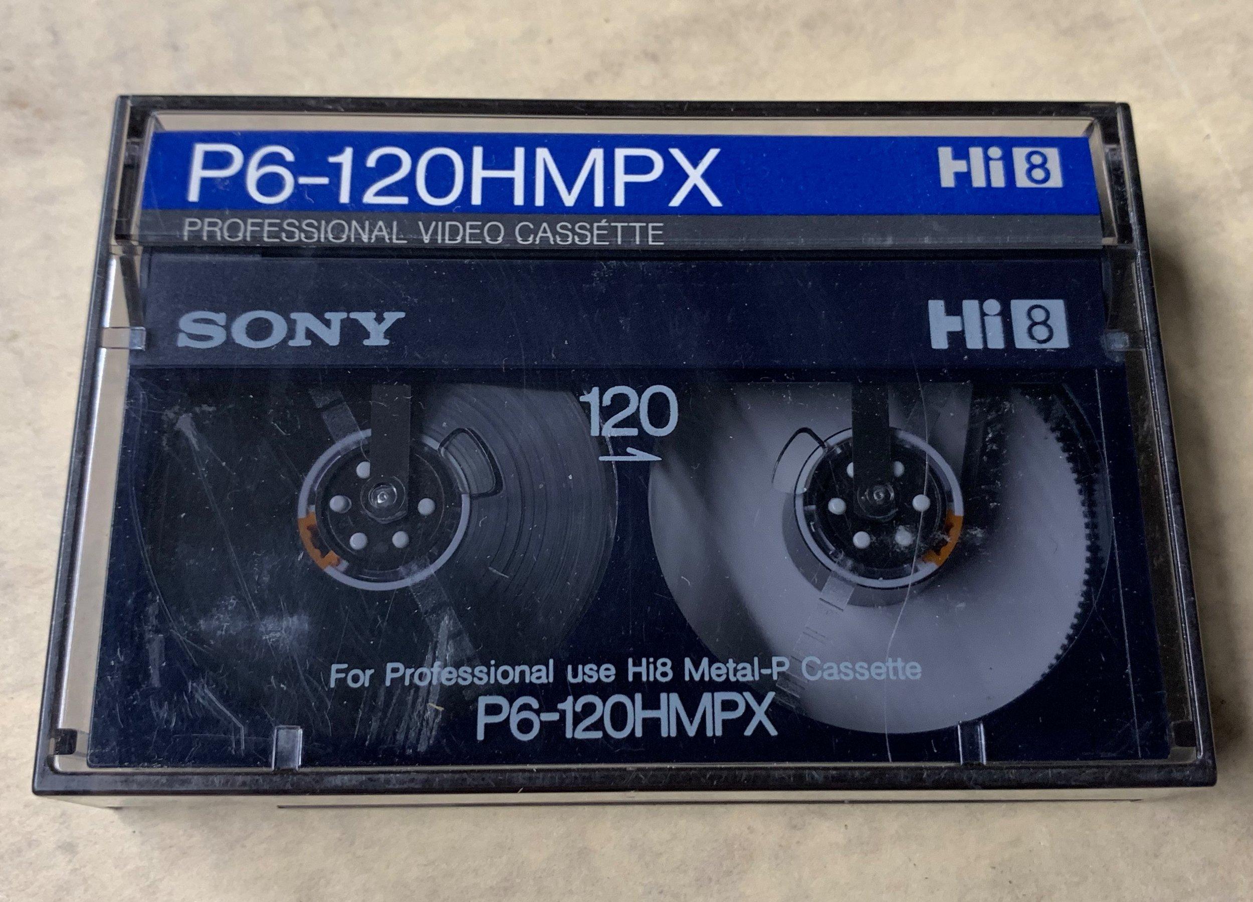 Sony Hi8 cassette