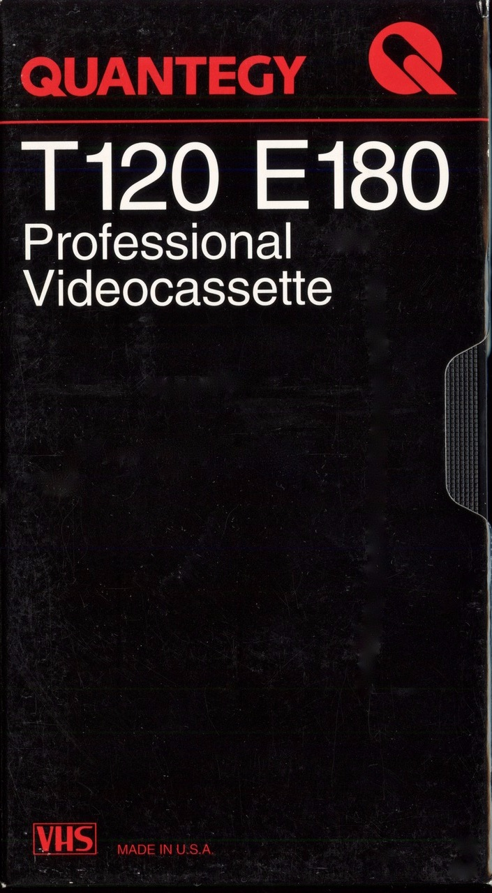 Quantegy T120 VHS