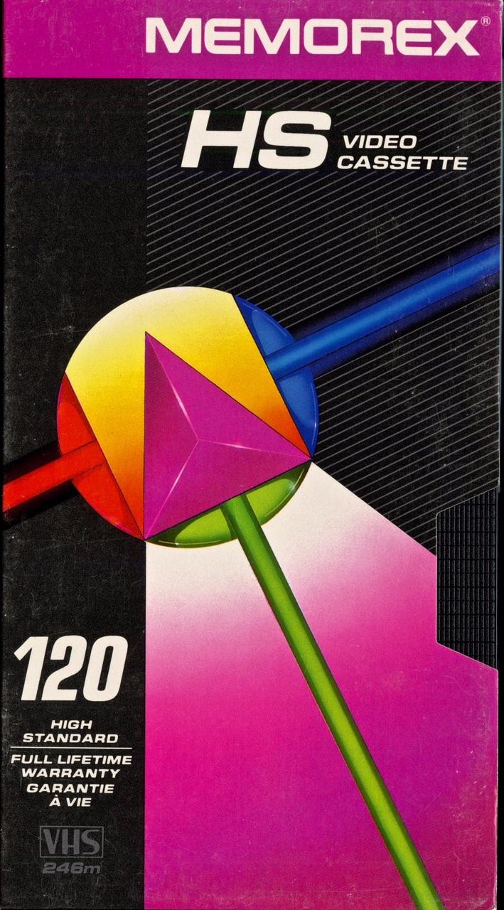 Memorex HS T120 VHS