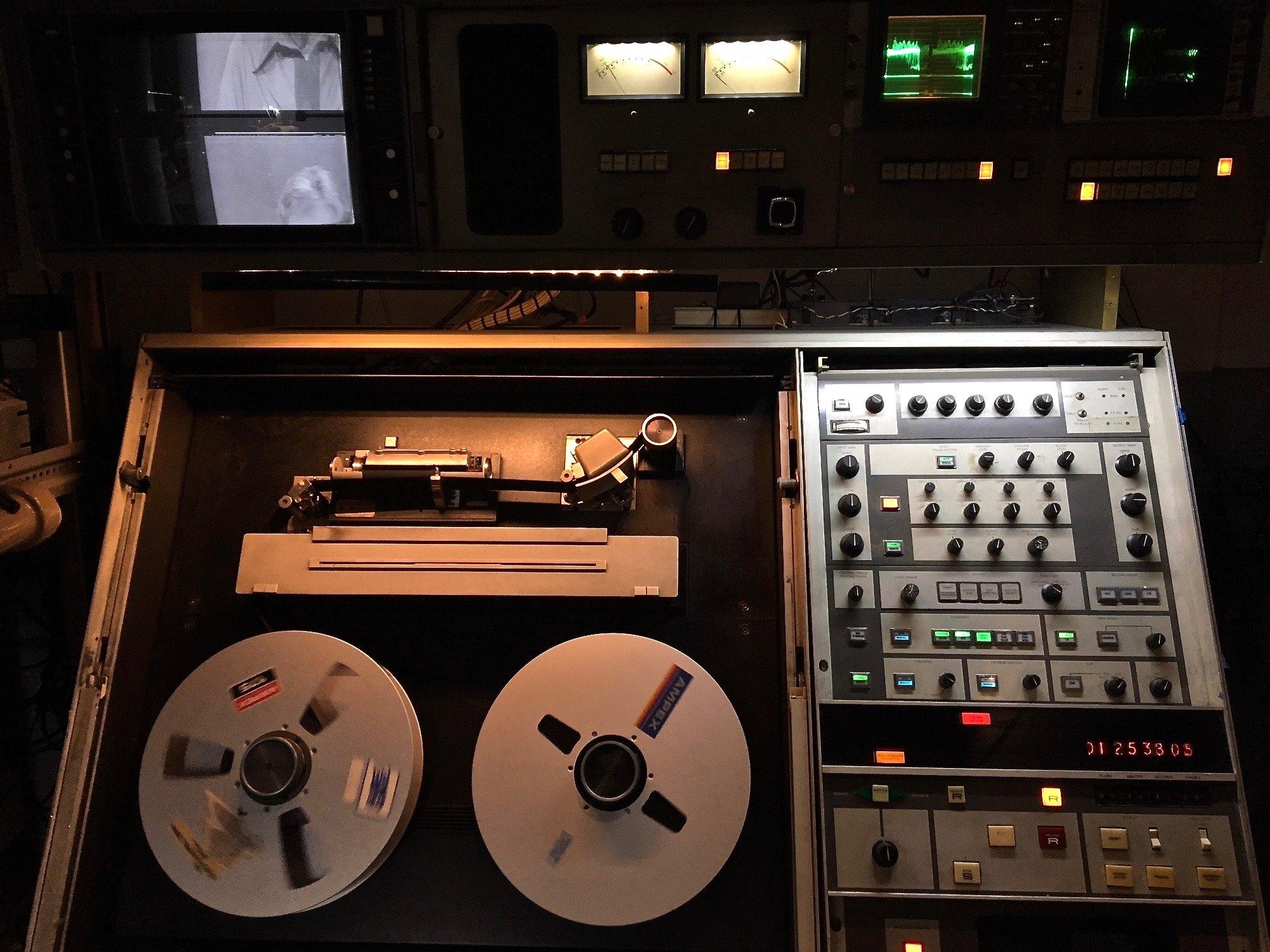 AVR-1 Quad videotape recorder