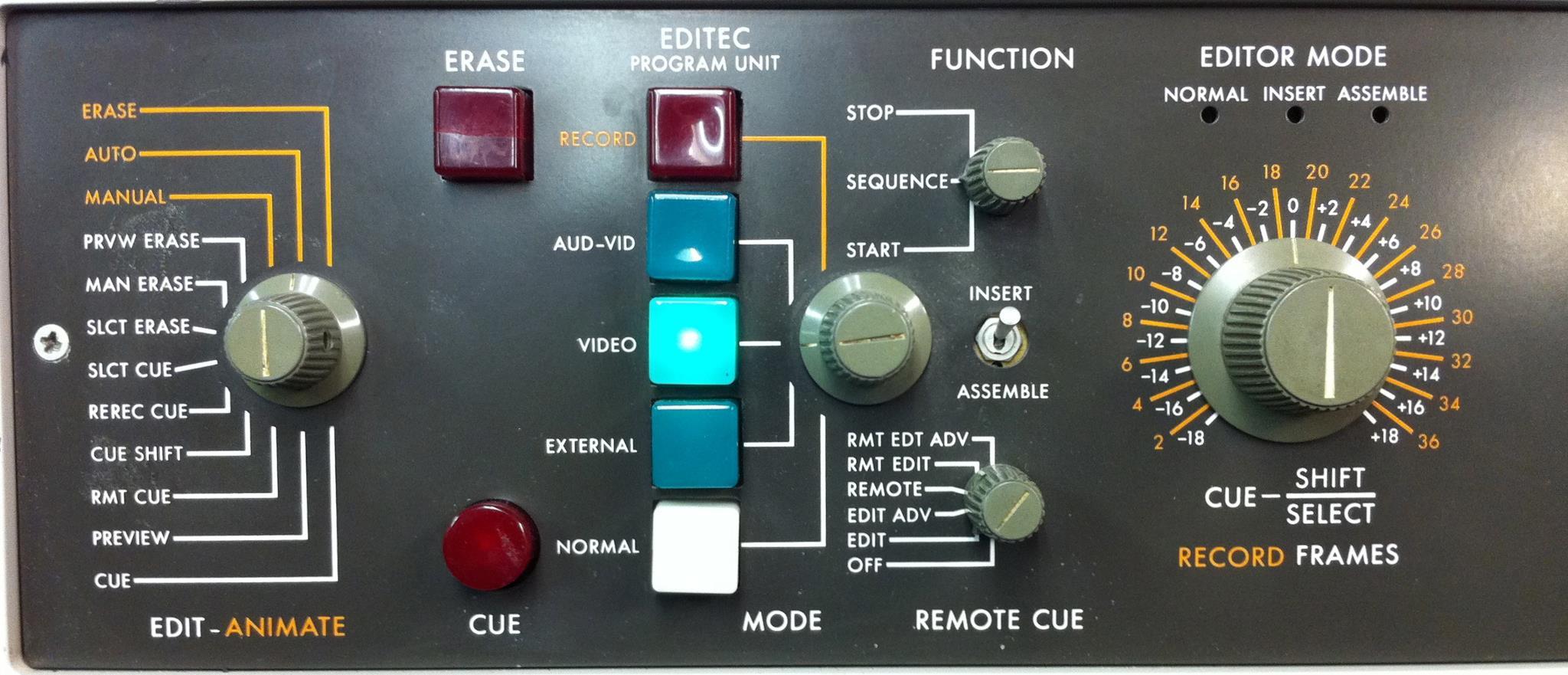 Ampex editec