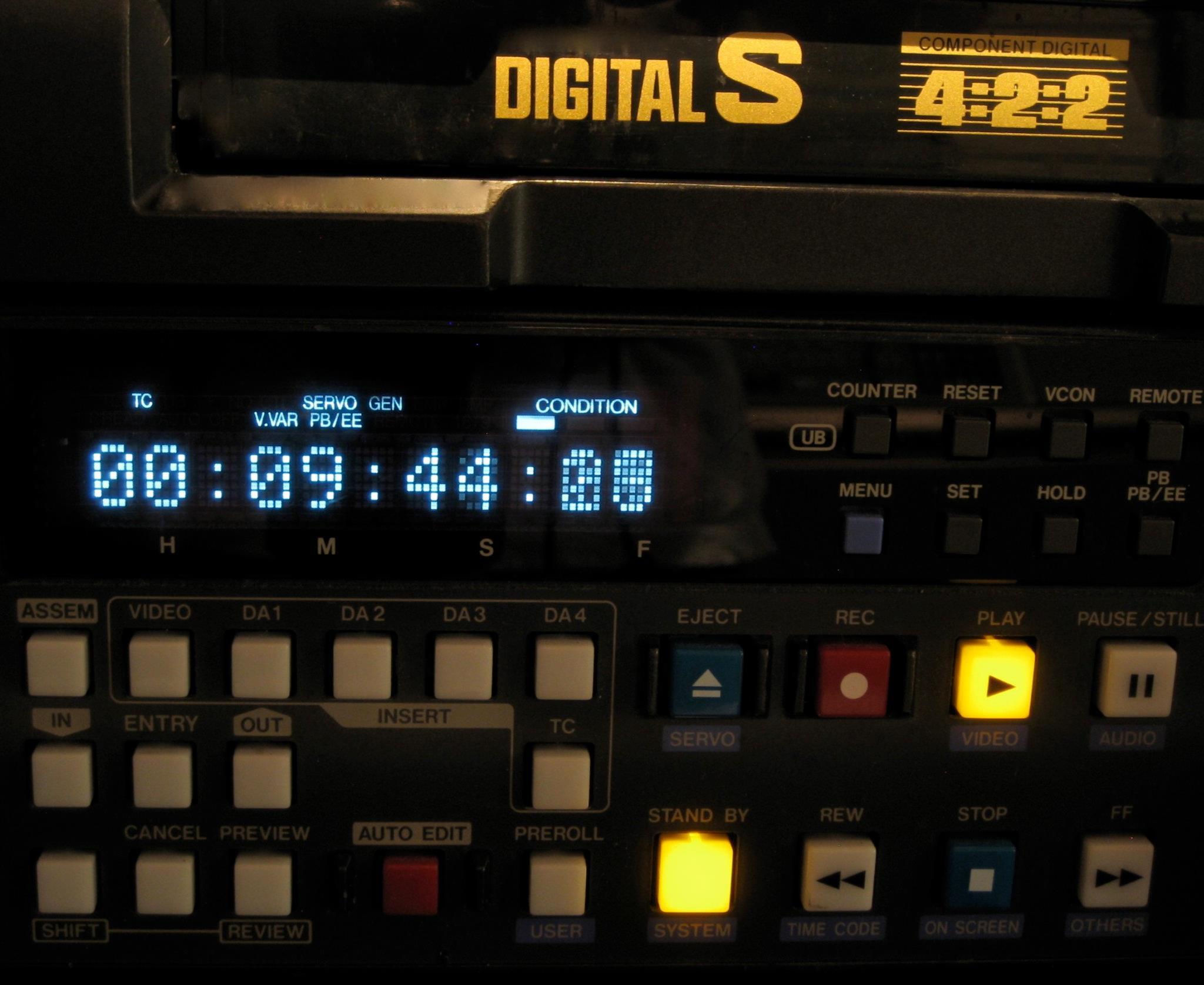 Digital S VHS JVC