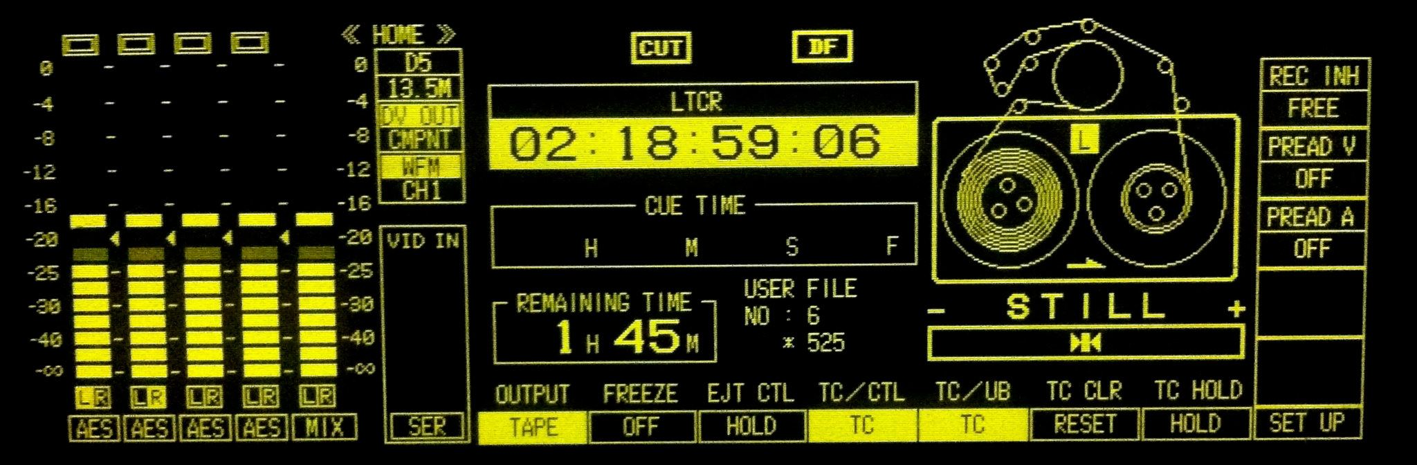 D5 control panel
