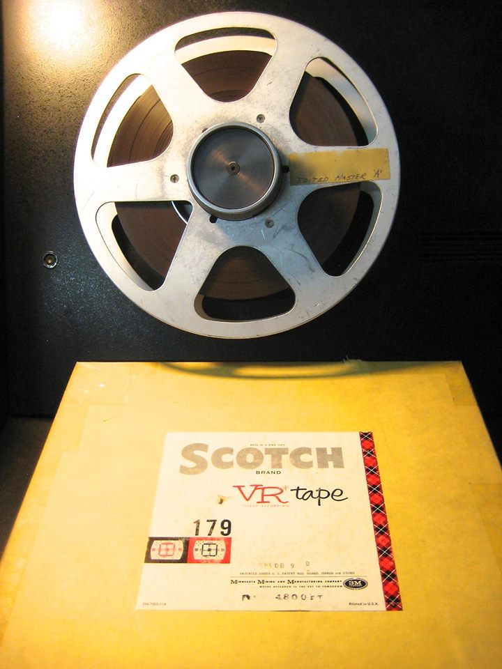 Scotch 2 inch videotape