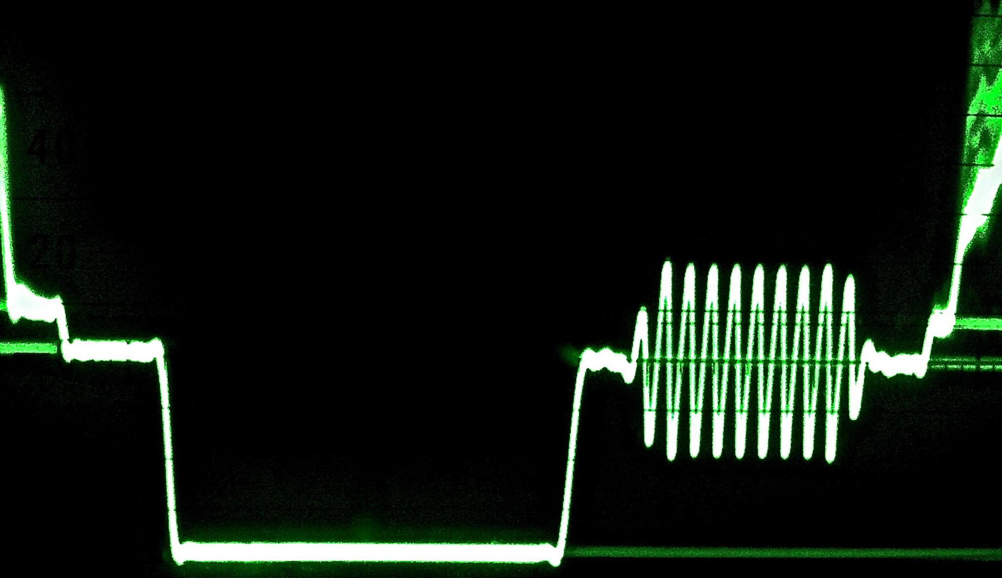 NTSC sync pulse