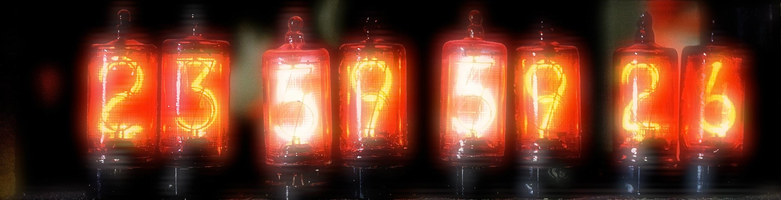 Nixie tubes AVR-1 tape counter