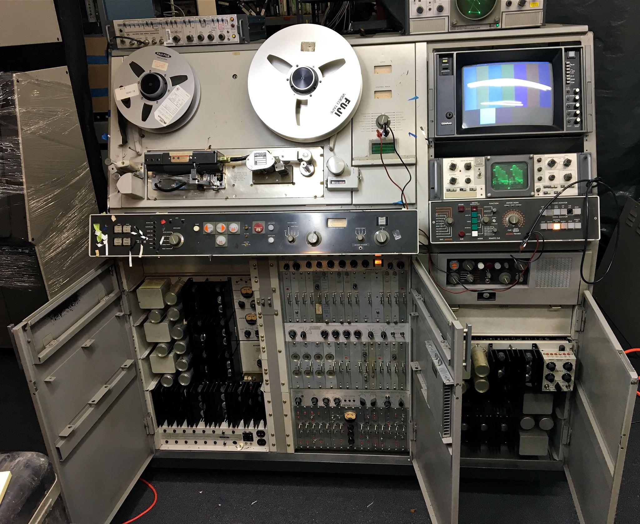 Ampex VR2000 2 inch VTR