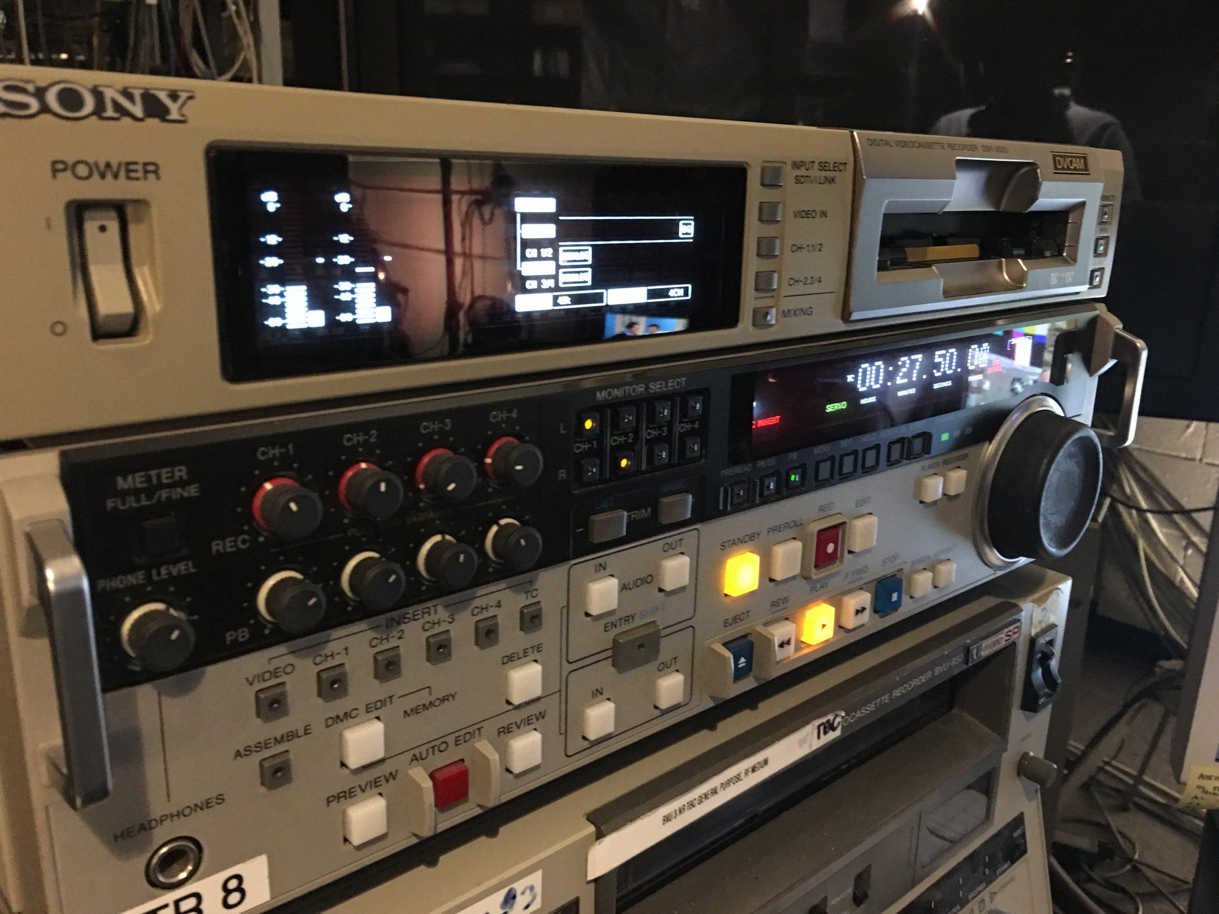 Sony DVCam DSR-2000