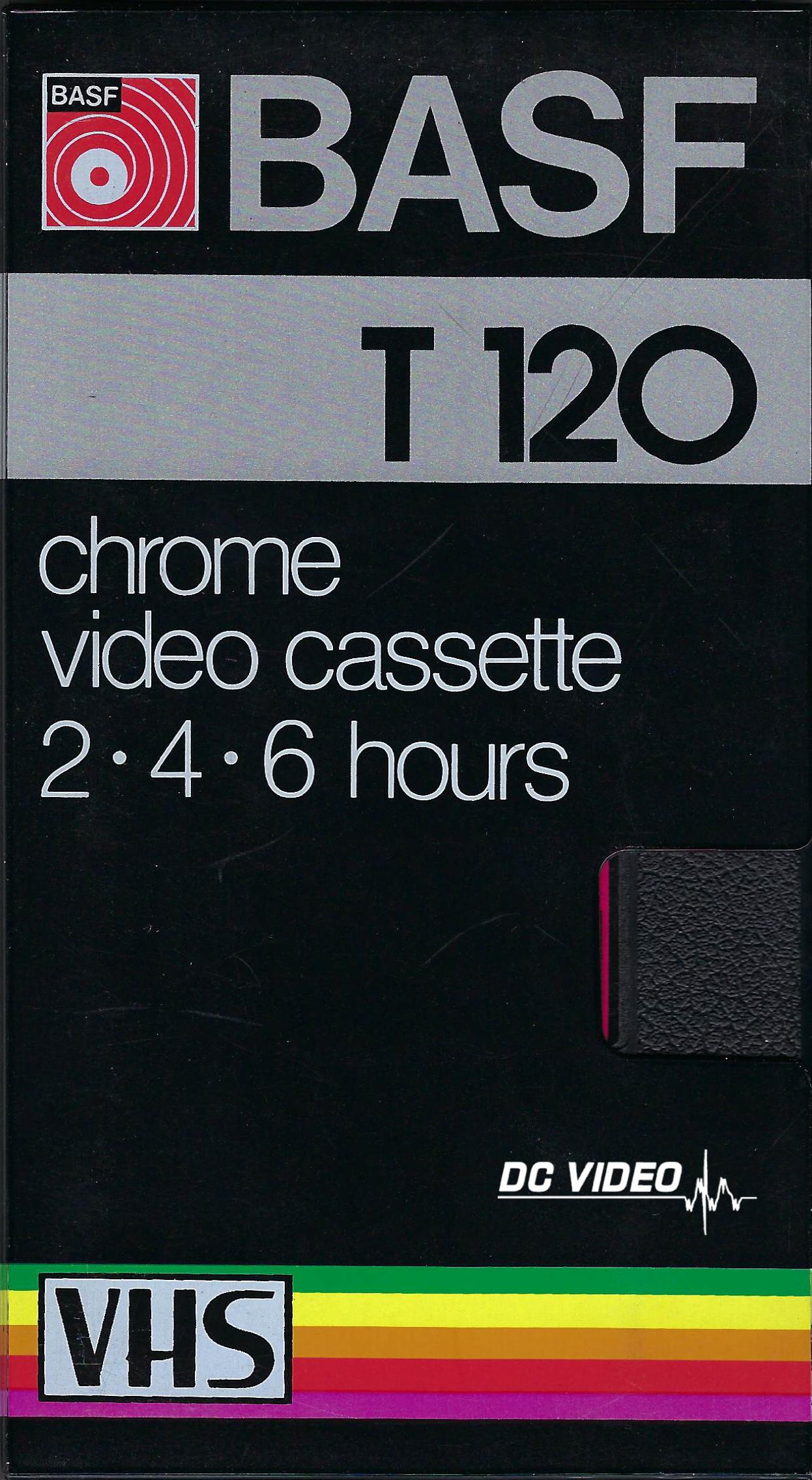 BASF T120 Chrome VHS Videocassette