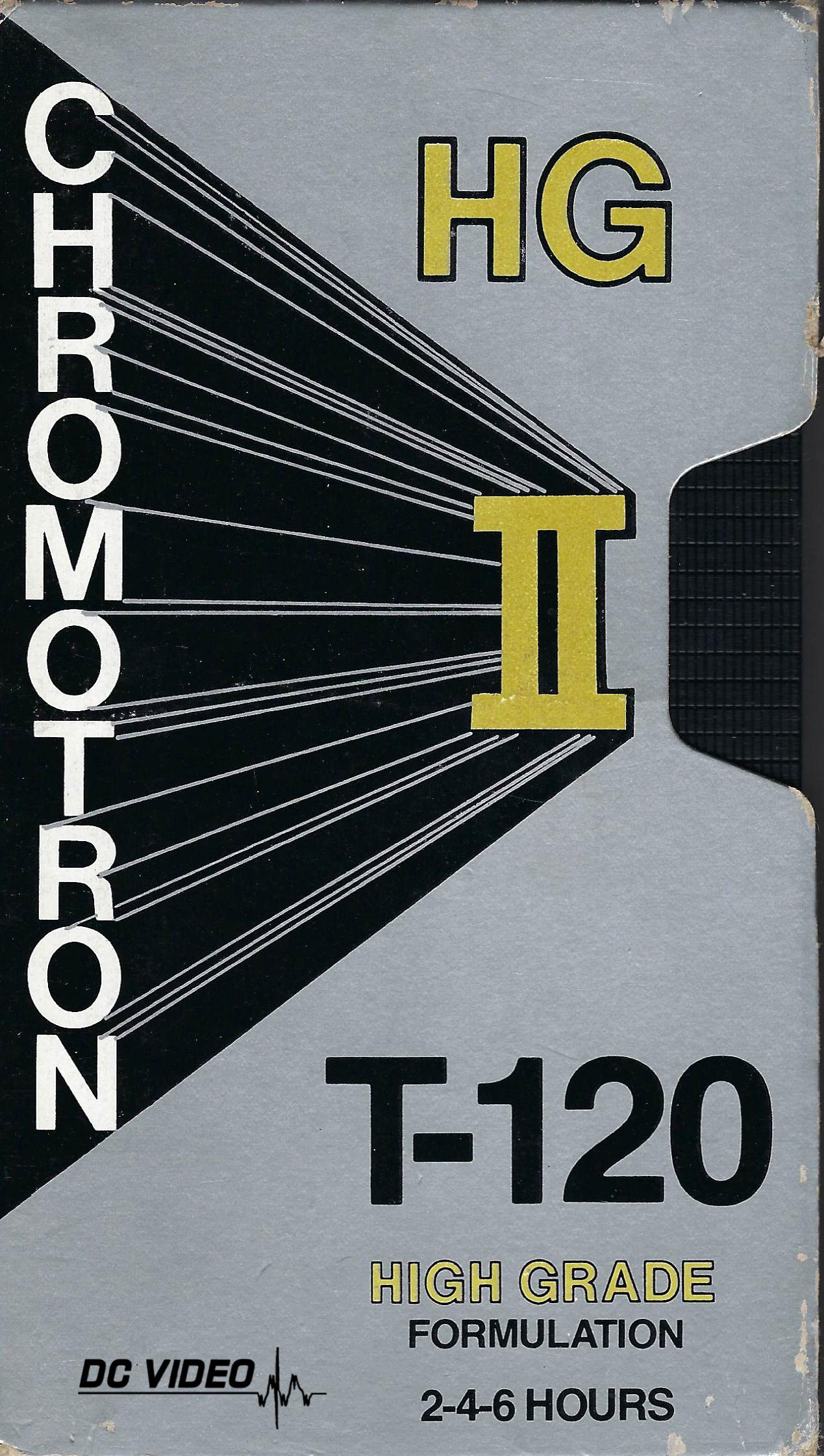 Chromotron HG II VHS