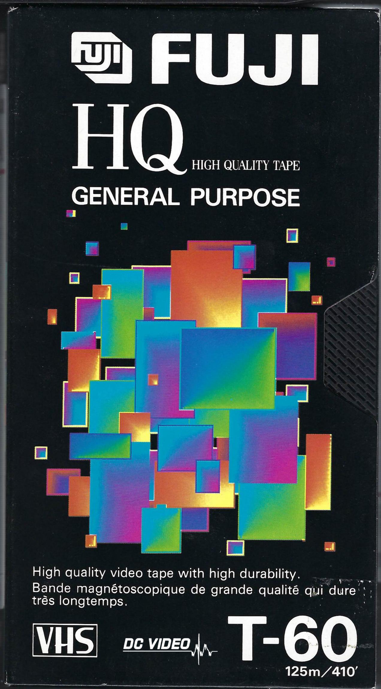 Fuji HQ VHS T-60