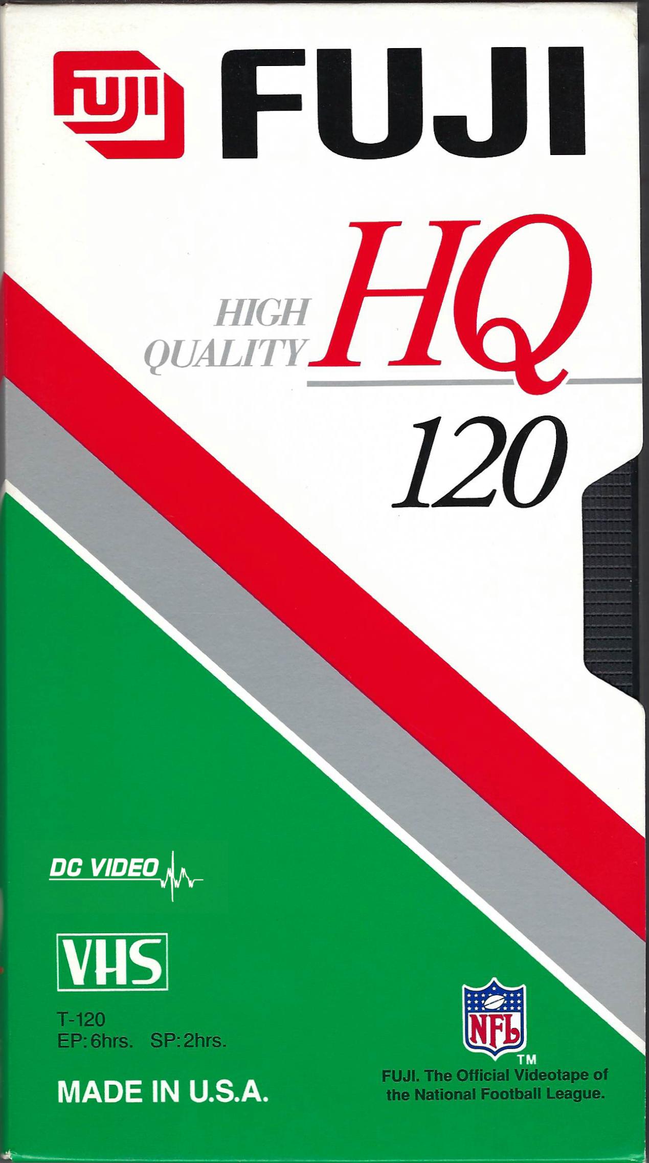 Fuji HQ 120 green red label