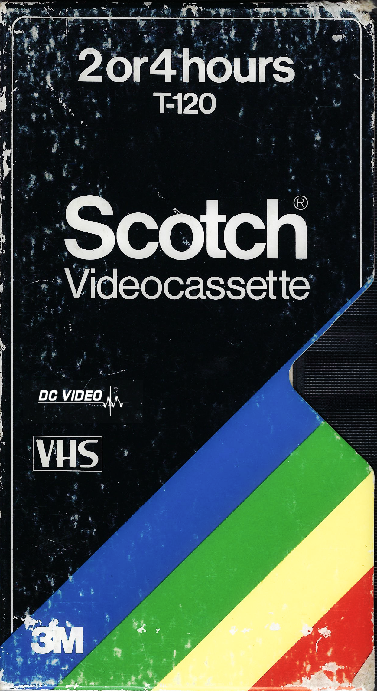 Scotch VHS Four Color Box