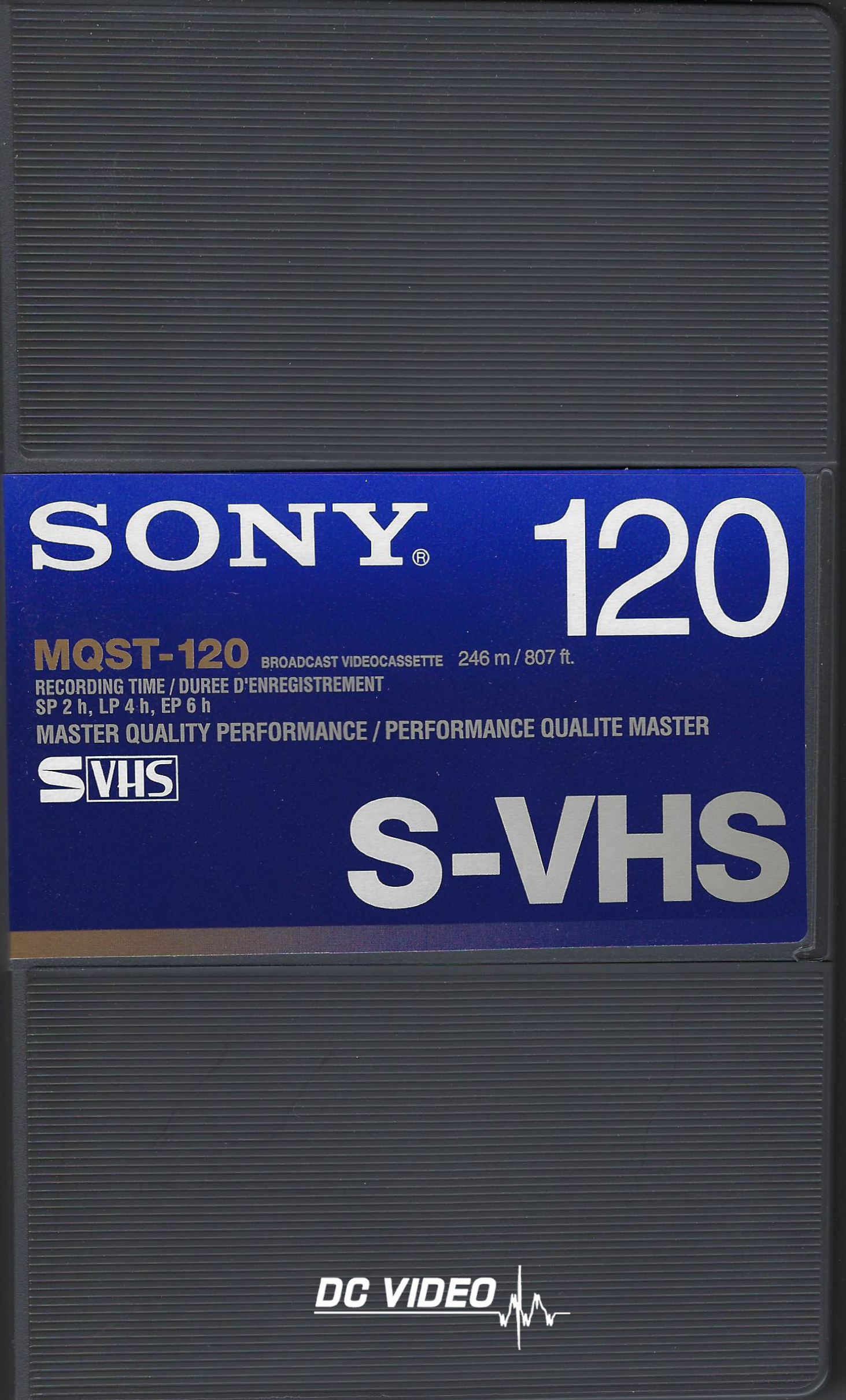 Sony SVHS MQST