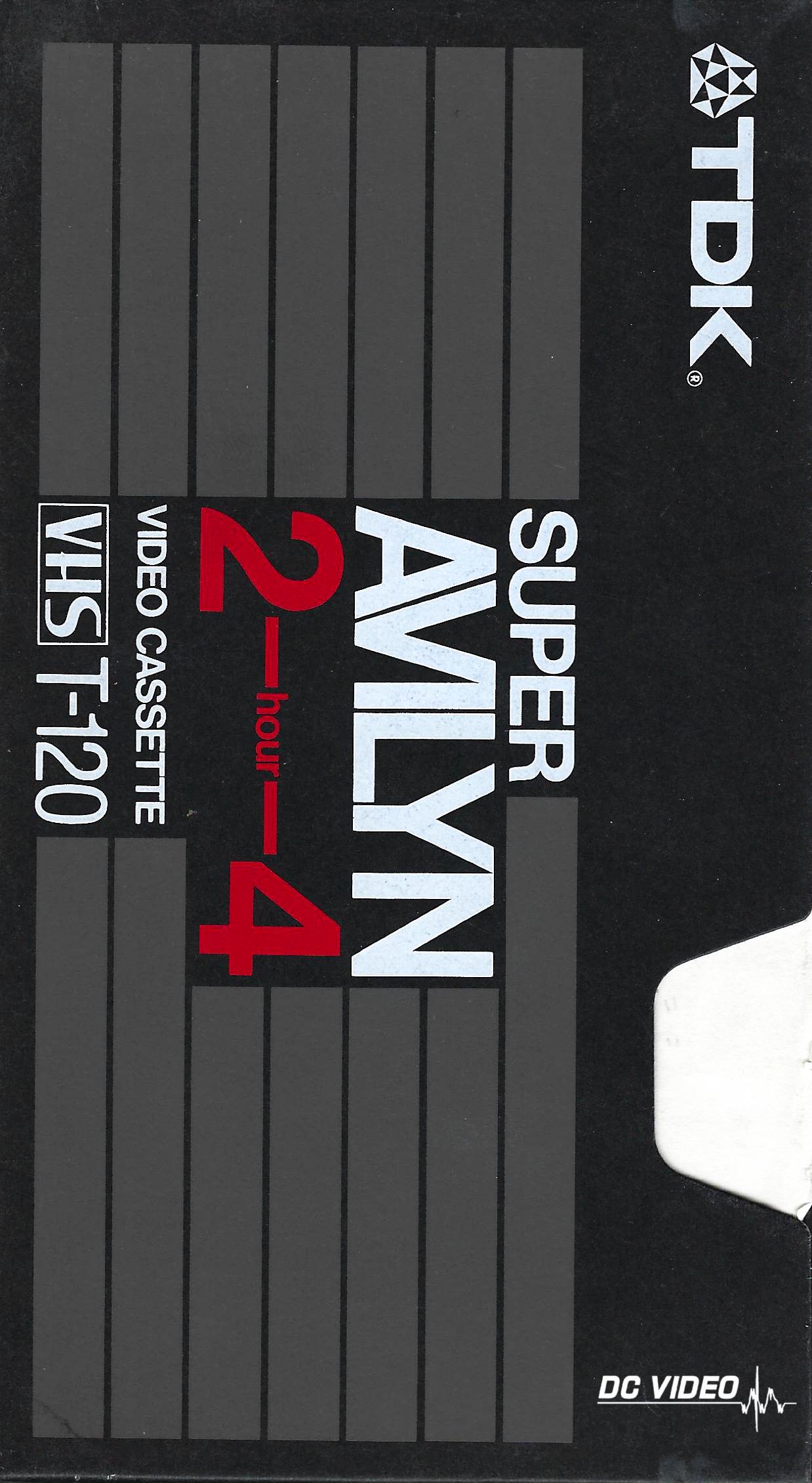TDK Super Avilyn VHS