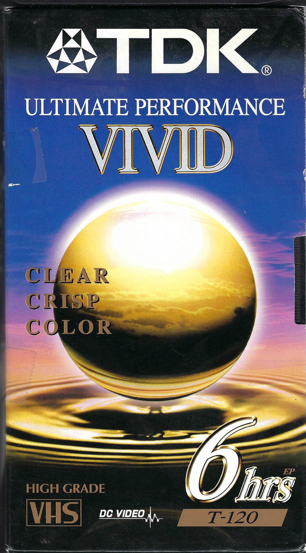 TDK Vivid VHS
