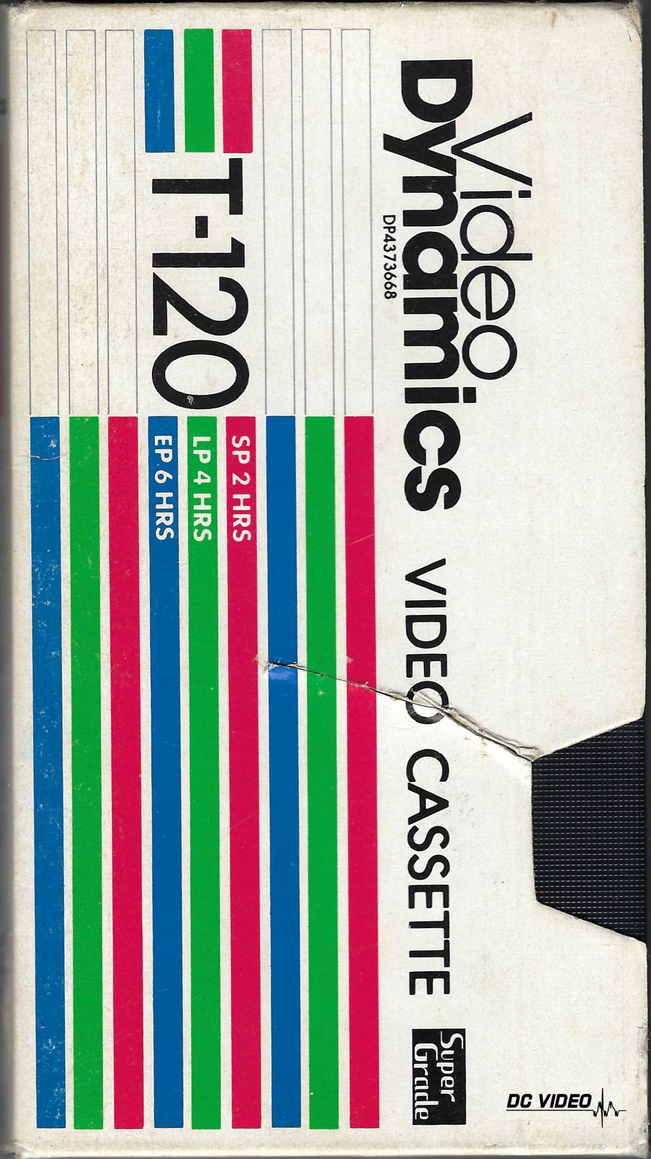 Video Dynamics VHS