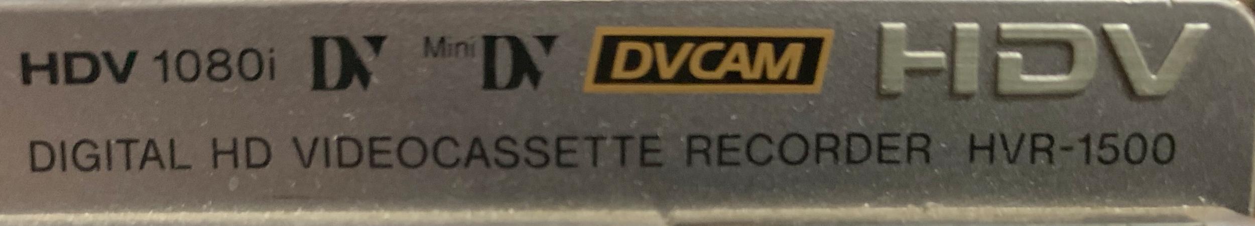 Sony HDV