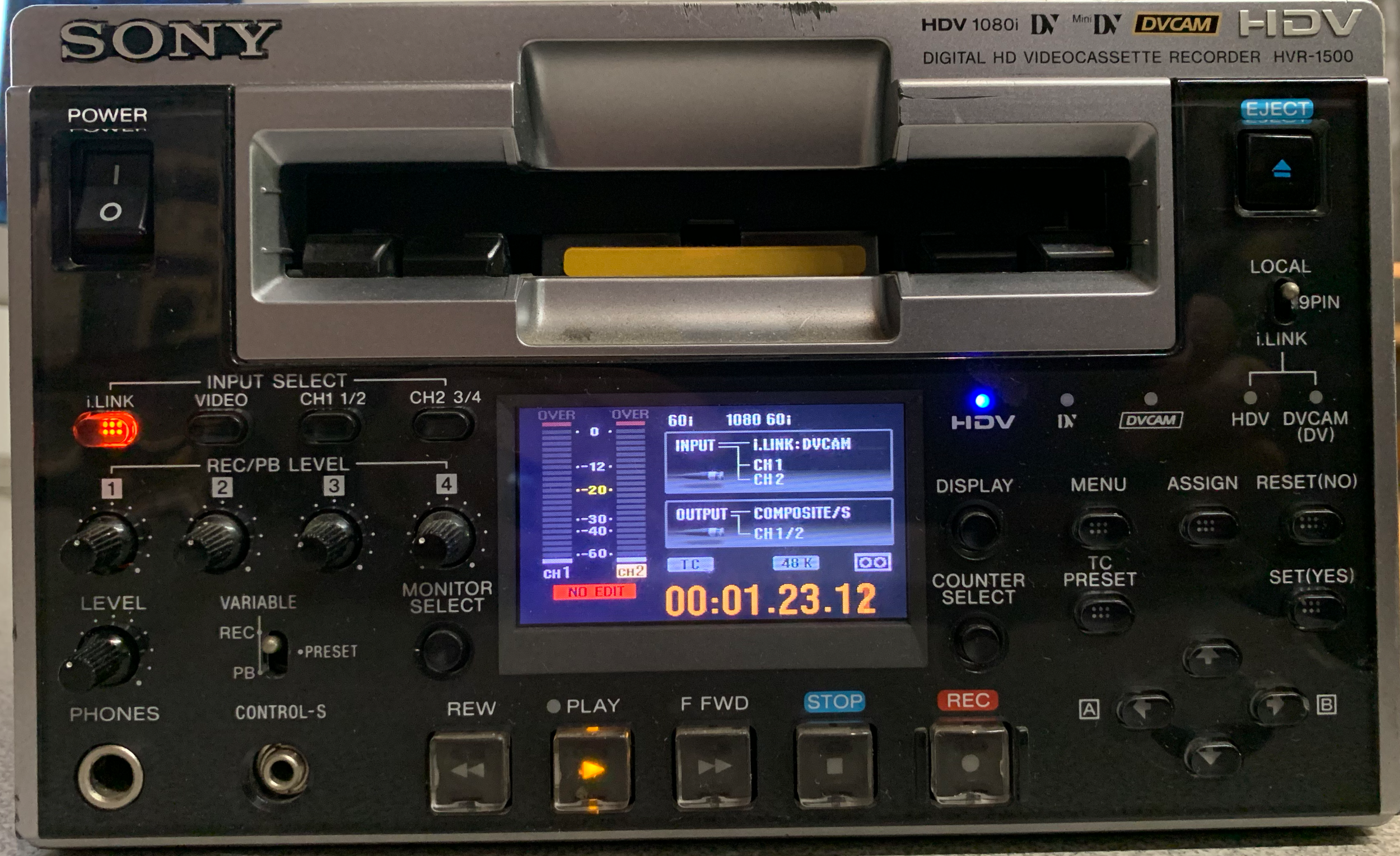 Sony HVR-1500 HDV