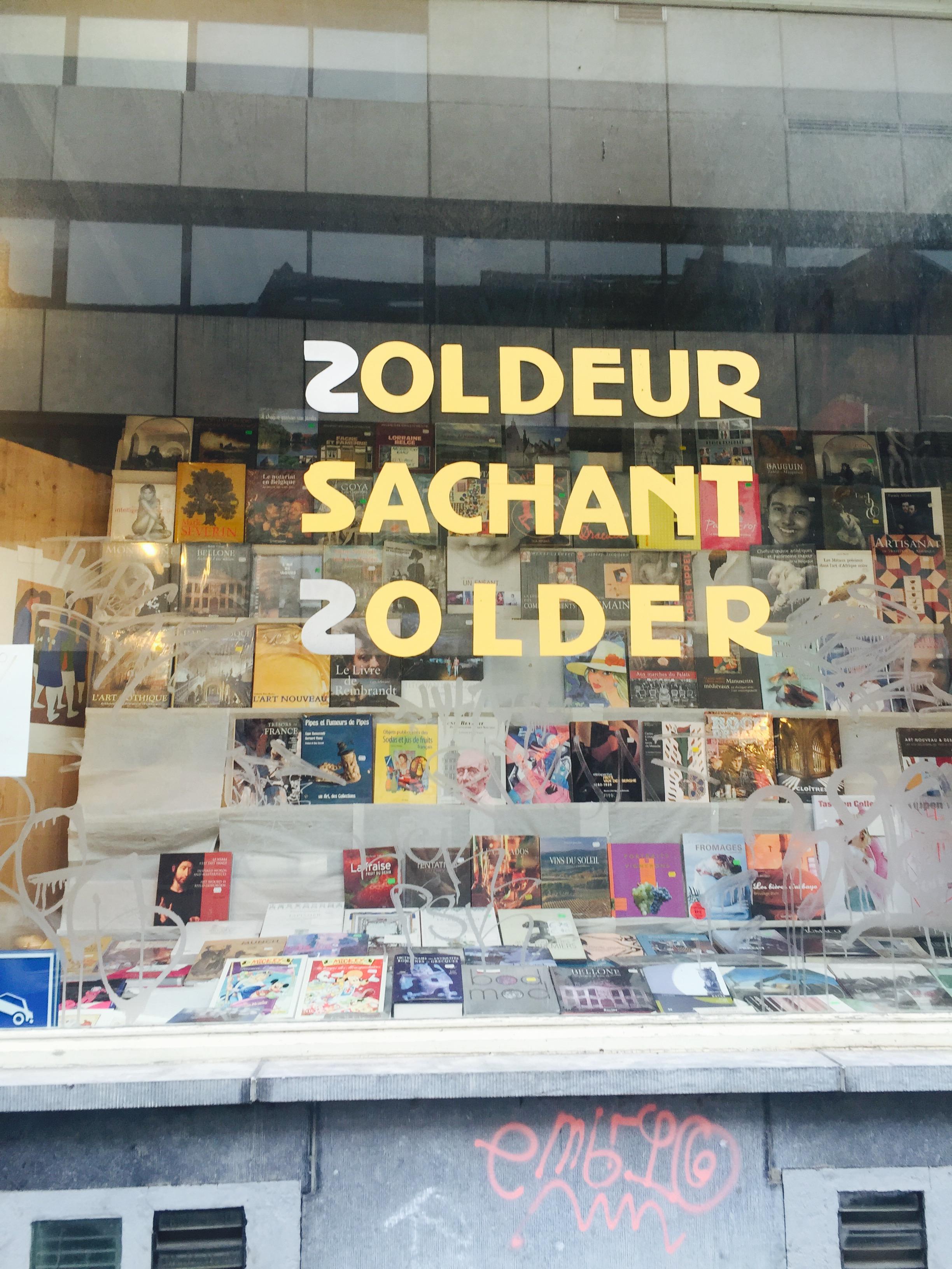 Geweldige boekenwinkel in de Matongéwijk!