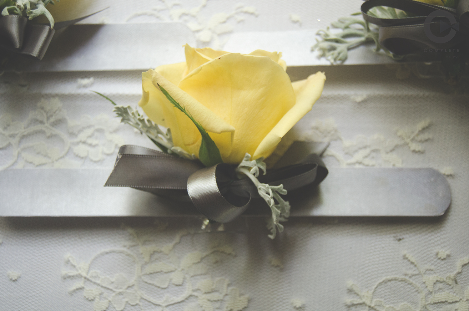 Their flowers could not have been more gorgeous. The yellow mirrored their continued smiles throughout the day.