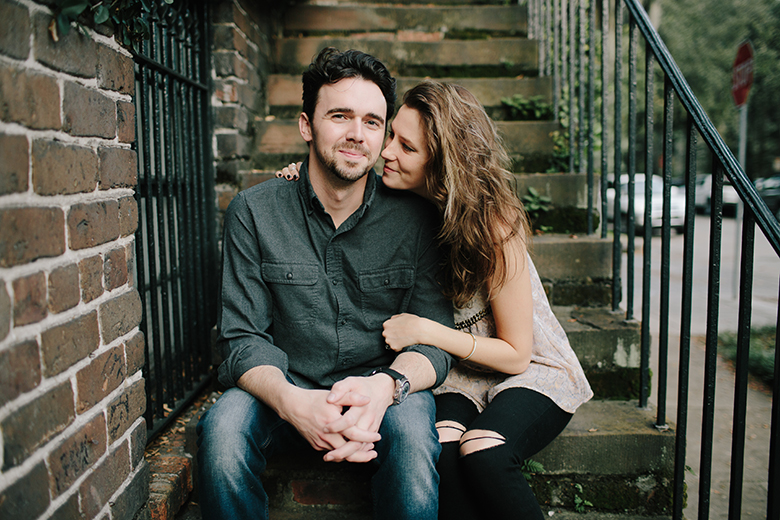 savannah georgia engagement