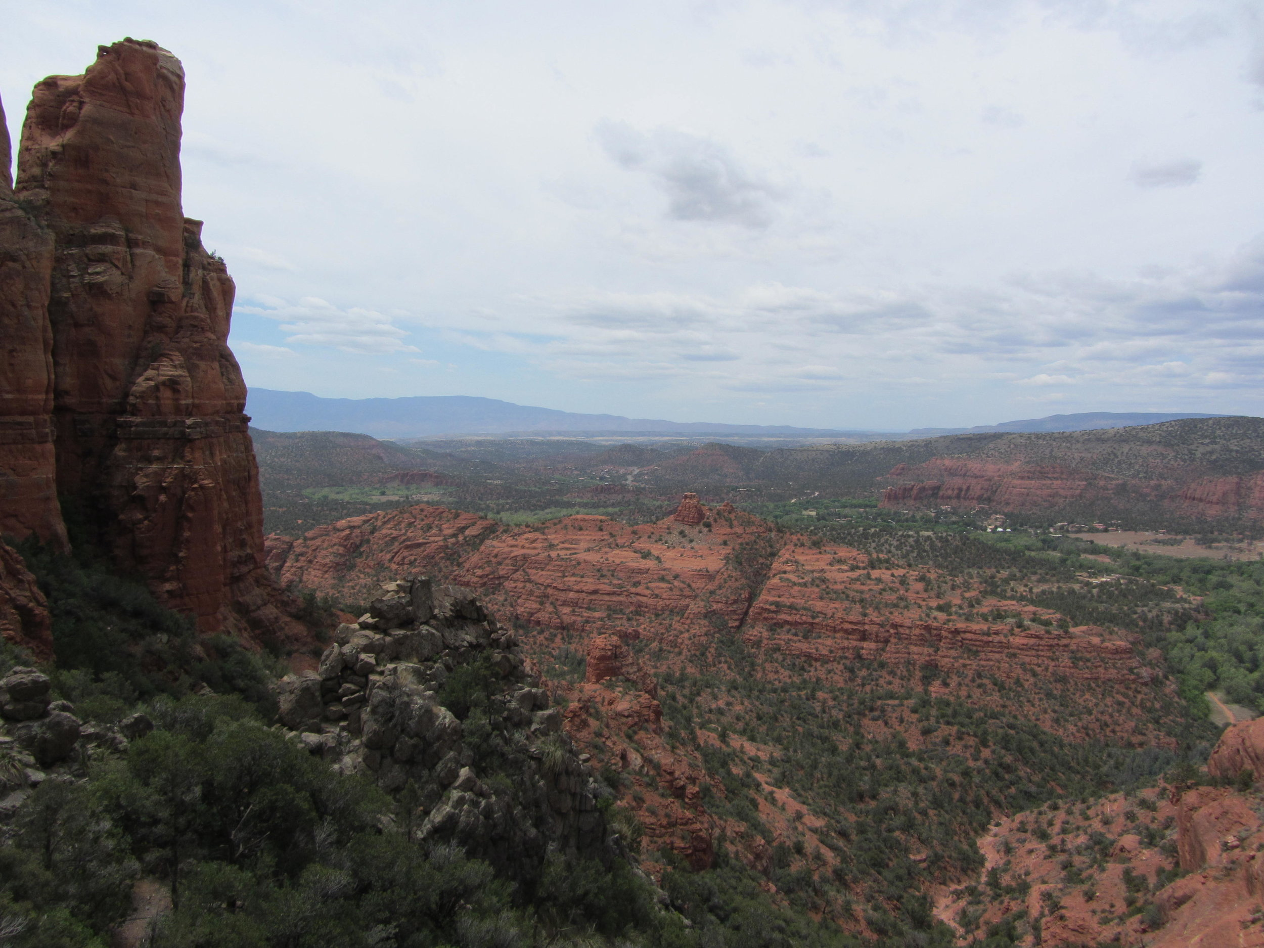 Cathedral Rock Trail.