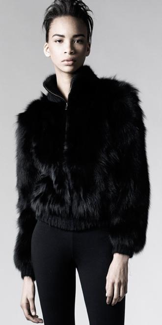 STYLE # T122184FX   fox bomber jacket