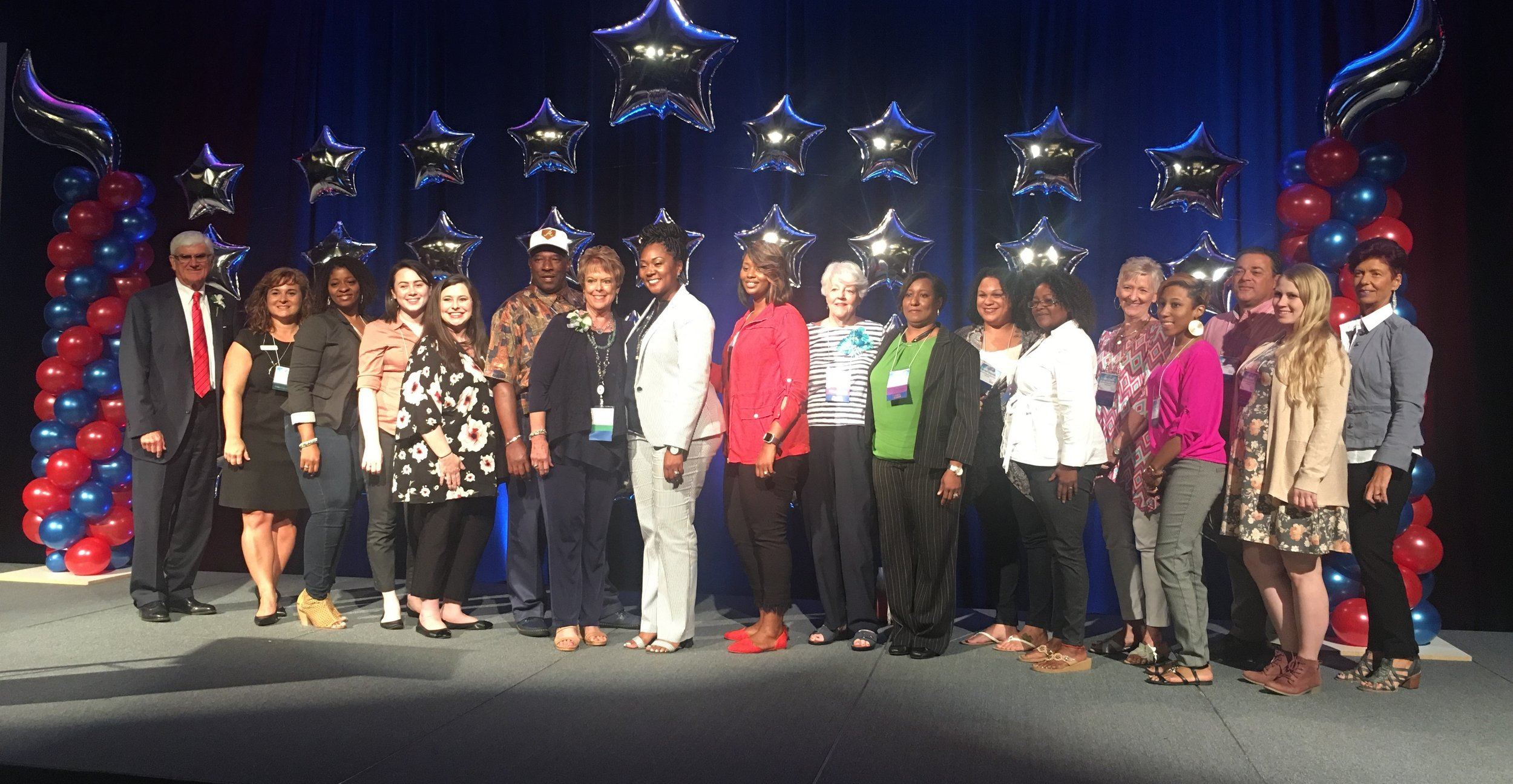 CEI's Award Winning CASA Program - Child Enrichment's CASA of the Augusta Judicial Circuit was recognized at the Georgia CASA Conference on August 4, 2018 with the 2018 Innovative Affiliate CASA Program of the Year Award. Congratulations to our wonderful team members and volunteers!