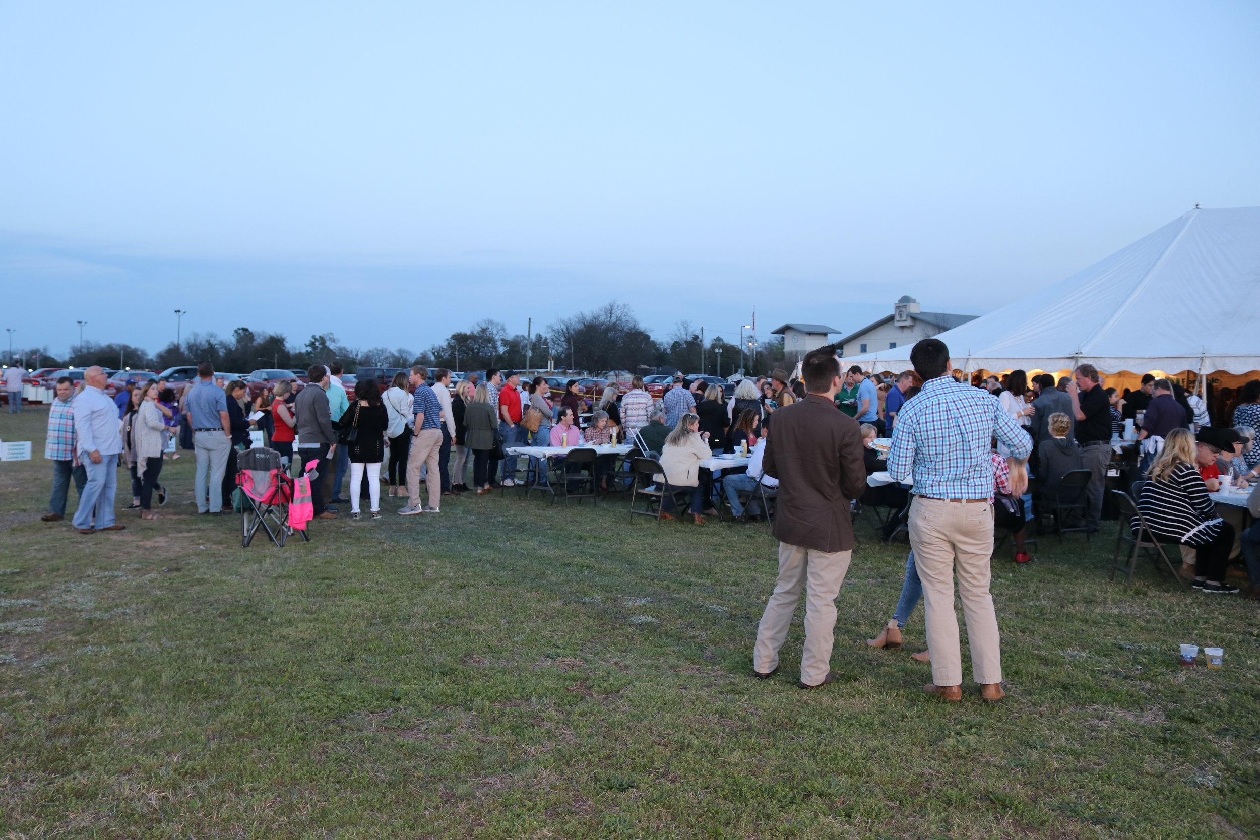 crowd outside tent.JPG