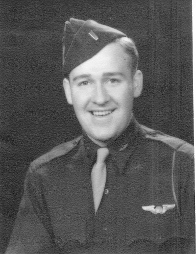 2nd Lt. Maynard L. Jones, probable graduation photo Army Air Force Navigation School, Class Forty Four-Three February 26, 1944