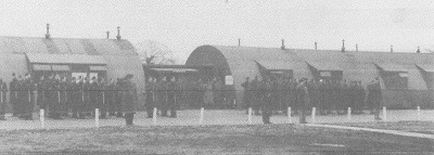 Quonset huts at Tibenham