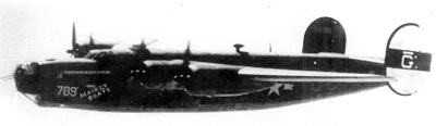 Mairzy Doats before transfer to the 703rd Bombardment Squadron