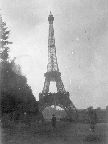 Eiffel Tower, Paris, Francis Photo by Louis A Barkus