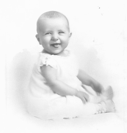 Betty Lou Barkus Probably 1924/25