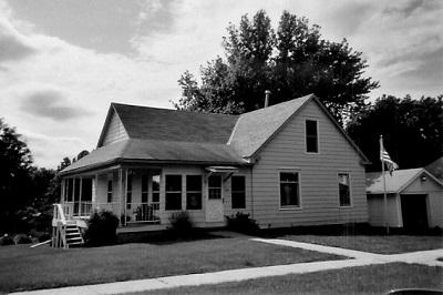 Bushnell/Barkus home, Malvern, Iowa Photo taken in 2007