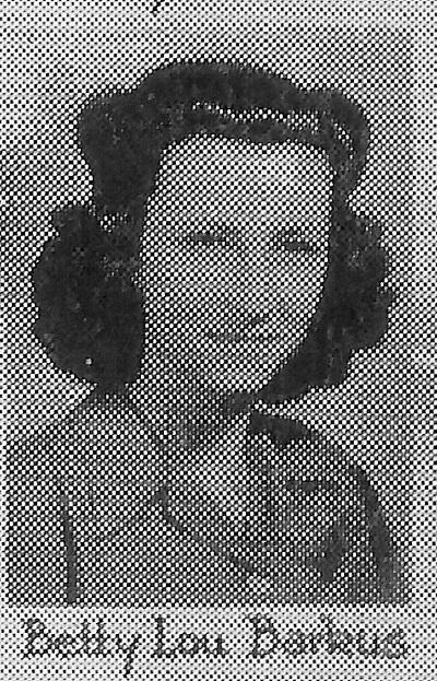 Senior Year Photo in Graduation Material Malvern High School, 1941