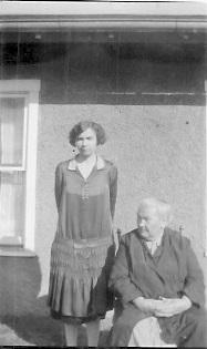 Floye Garrett and Delvina Jessup-March 1928 Probably Escondido, California