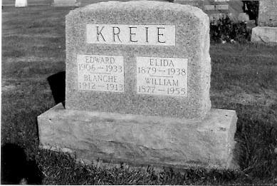 Cemetery Marker, Elmwood Cemetery, Antigo, Wisconsin.