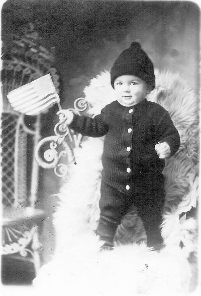 Kenneth Lester Garrett Age 15 months