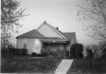 The Garrett family home 113 N. Cross, Saint Charles, Madison Co., Iowa