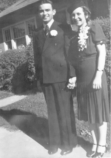 Kenneth L. and Marian Kreie Garrett 4 September 1939
