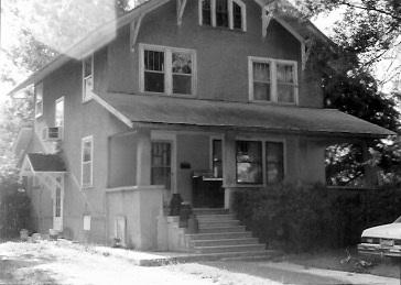 Family home, Lorimor, Iowa Photo taken about 1993