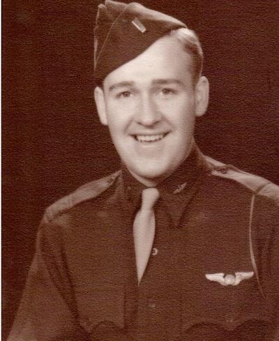 Lt. Maynard Leroy Jones, United States Army Air Force Probably 1943 upon graduation from navigator school