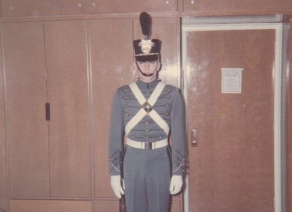 Craig in Full Dress Uniform, Spring 1967